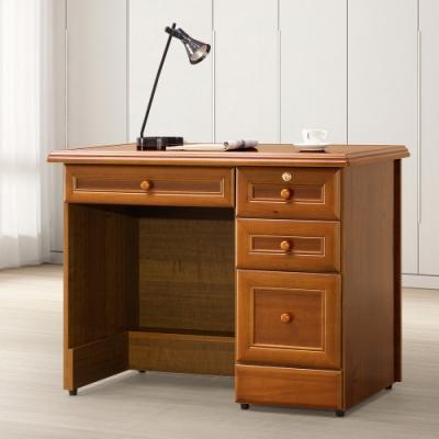 Homelike 樟木3.5尺書桌-寬106x深64x高82cm