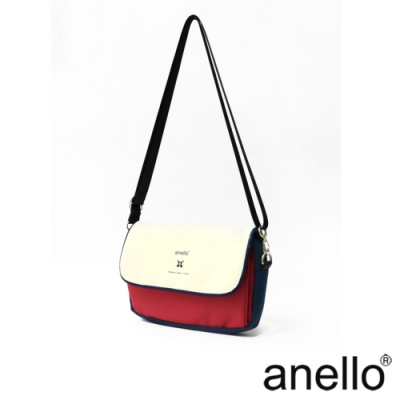 anello 實用高機能性防潑水斜背包 法國色