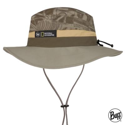 【西班牙BUFF】 可收納圓盤帽-國家地理頻道-考古印記