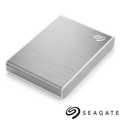 Seagate One Touch 500G 外接SSD 高速版 星鑽銀(STKG500401)