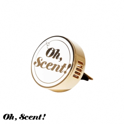 Oh, Scent! 精緻車上香氛經典款 White-白(莓果)