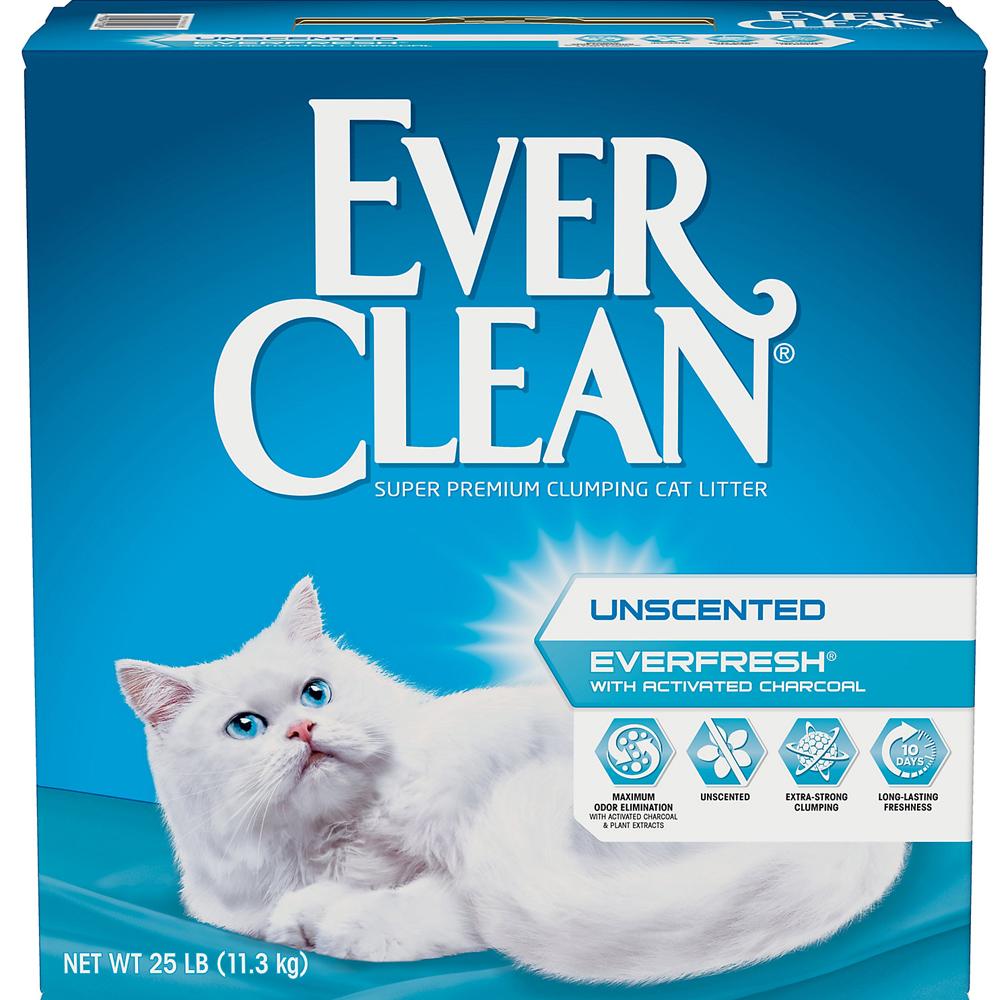 美國EverClean《藍鑽系列》活性碳除臭貓砂