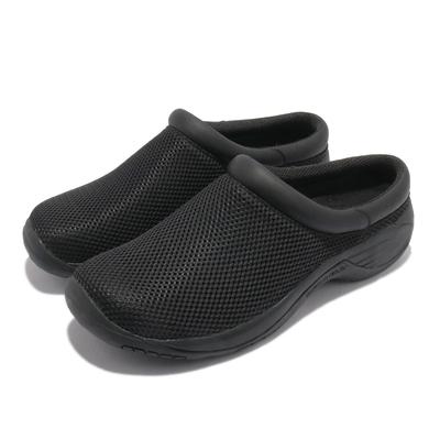 Merrell 休閒鞋 Encore Bypass 2 男鞋 懶人鞋 拖鞋 內嵌式避震墊片 穩定 耐磨 黑 ML001921