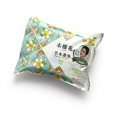 木槿花 涼感草本護墊 加長型 18cm 8片/包