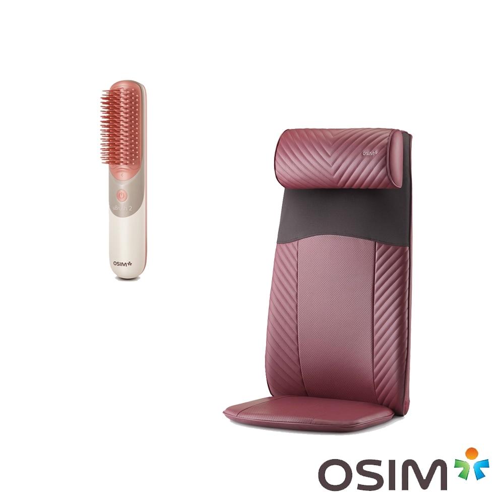 OSIM 背樂樂 OS-260 + 摩髮梳OS-160