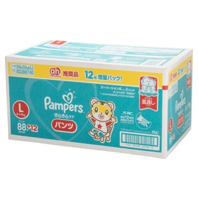 Pampers 巧虎褲型紙尿褲 日本境內彩盒版 L 50片x2包/箱