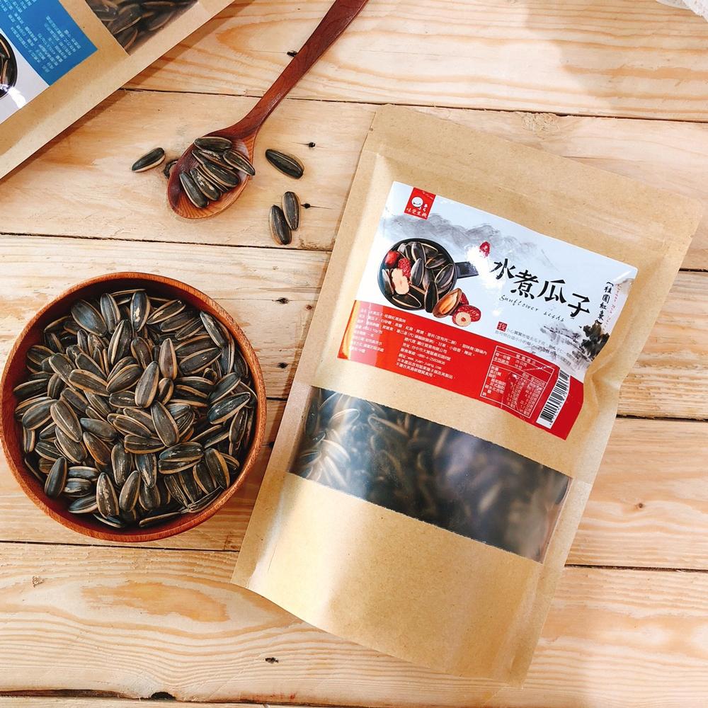 味覺生機 老灶水煮瓜子-桂圓紅棗(400g)