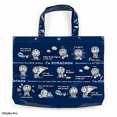Sanrio 哆啦A夢輕量防潑水手提袋/補習提袋(道具)