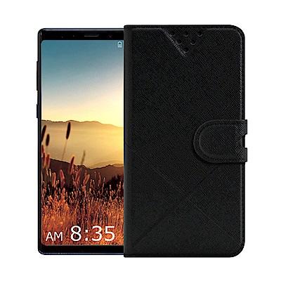 NISDA For Samsung Galaxy Note 9 風格磨砂側翻支架...