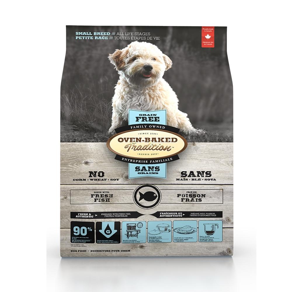 加拿大OVEN-BAKED烘焙客-全齡犬無穀深海魚-小顆粒 5.67kg(12.5lb)