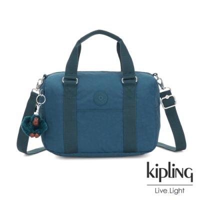 Kipling 遼闊海峽藍手提側背包-CASKA