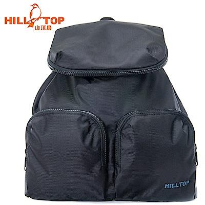 【hilltop山頂鳥】15L多功能背包T28X10黑色