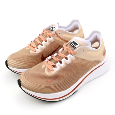 NIKE WMNS NIKE ZOOM FLY SP 女跑步鞋 橘