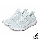 【KANGOL】編織彈性全能輕量運動鞋-男-白