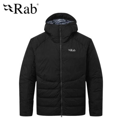 【RAB】Infinity Light 防潑水保暖羽絨外套 男款 黑色 #QDN77