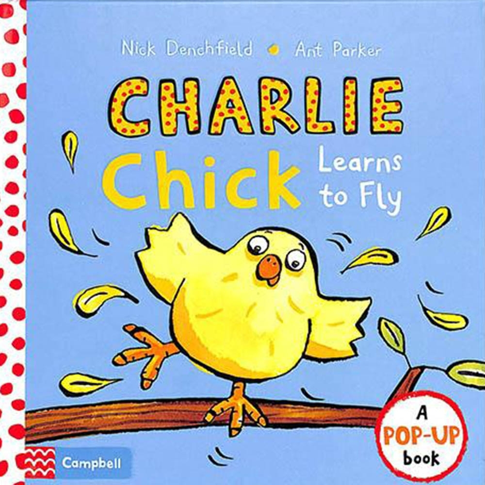 Charlie Chick Learns To Fly 查理小雞學飛精裝立體故事書