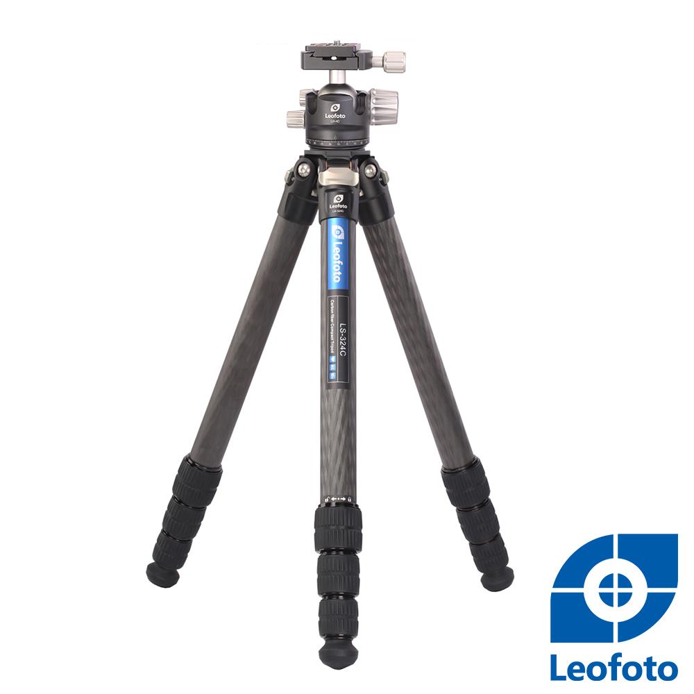 Leofoto徠圖-LS324C+LH40 碳纖維三腳架(含雲台)