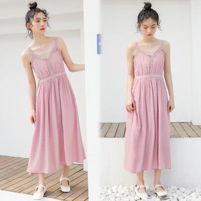【韓國K.W.】(預購)獨賣夏日清涼仙女洋裝-1色