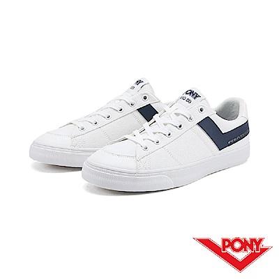 【PONY】PRO 80系列-經典復古休閒鞋-男-藍