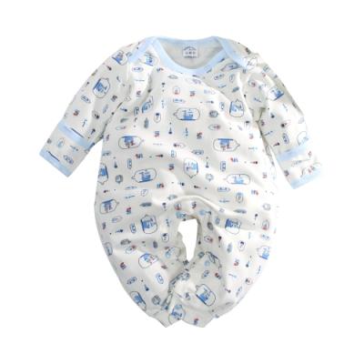 台灣製厚款護手連身衣 k61015 魔法Baby