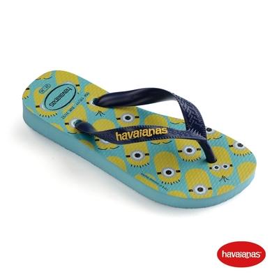 Havaianas哈瓦仕 拖鞋 夾腳拖 人字拖 巴西 男鞋 女鞋 藍/深藍 4133167-0245U Minions 小小兵