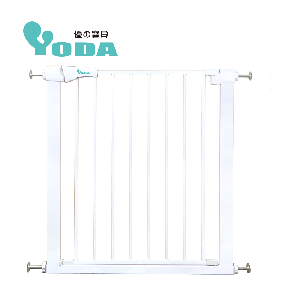 (送肚圍隨機款)YoDa 雙向自動關門安全防護兒童門欄