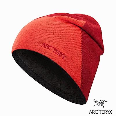 Arcteryx Rise 保暖針織毛帽 火焰紅/紅海灘
