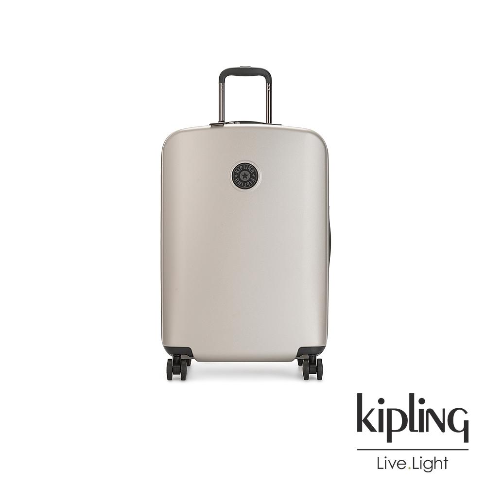 Kipling 都會時尚霧金27吋摩登硬殼行李箱-CURIOSITY M