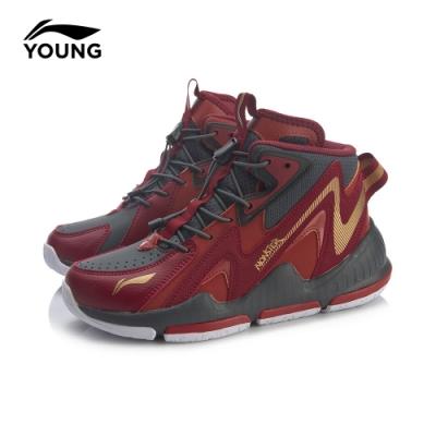 LI-NING 李寧 MONSTER0.2童鞋 男童鞋 國畫紅/單車紅/標準黑(YKBQ052-11)