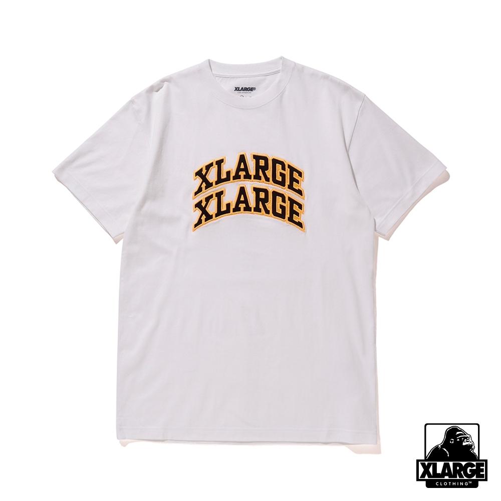 XLARGE S/S TEE XLXL短袖T恤-白