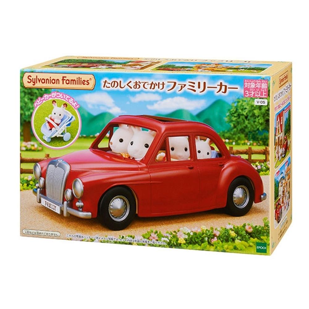 日本森林家族 紅色家庭車EP14047EPOCH公司貨