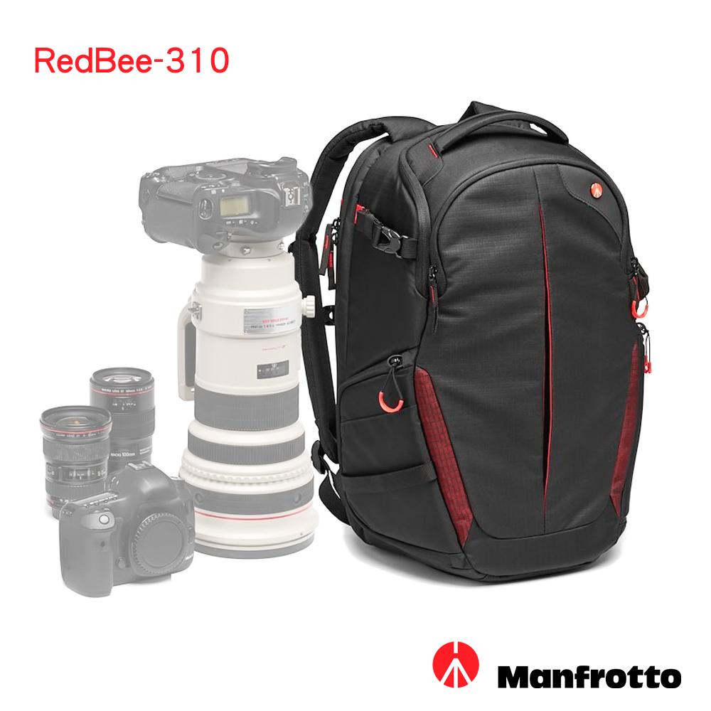 Manfrotto 旗艦級 紅蜂-310 雙肩相機包 RedBee 310