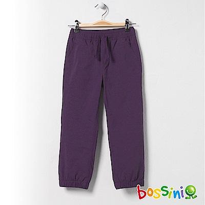 bossini童-彈性輕便保暖褲(內刷毛)01深紫