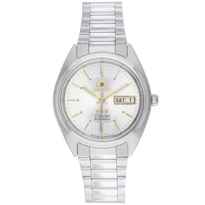 Orient東方經典自動男士手錶-FAB00006W9