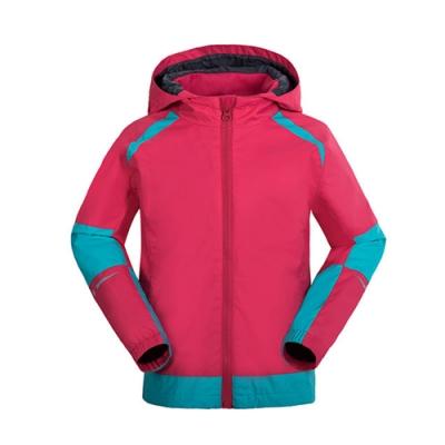【St. Bonalt 聖伯納】戶外機能防風防水單層衝鋒衣│童款-7256