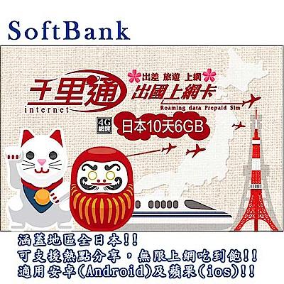 日本上網卡 日本 10日無限上網吃到飽 上網卡