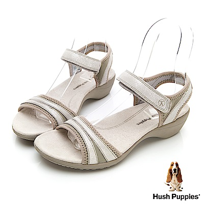 Hush Puppies ATHOS 機能涼鞋-香檳金