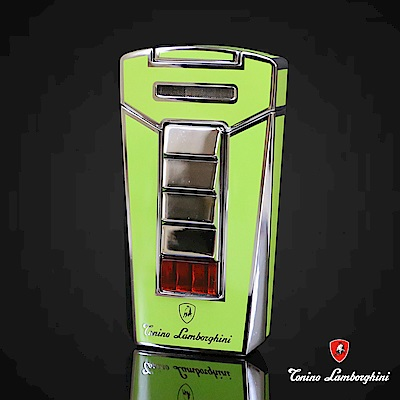 藍寶堅尼Tonino Lamborghini AERO LIGHTER 打火機(綠)