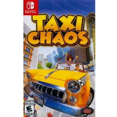 瘋狂司機 載客狂飛 (瘋狂計程車) Taxi Chaos - NS Switch 中英文美版