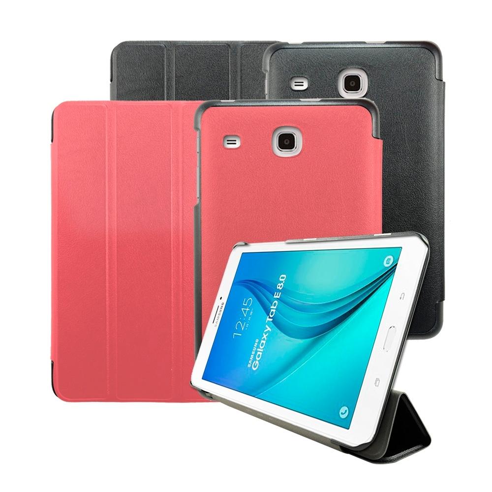 Metal-Slim Samsung Tab E8.0 三折站立皮套