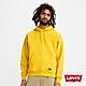 Levis 男款 頂級重磅口袋帽T 寬鬆休閒版型 550GSM厚棉 芥末黃 product thumbnail 1