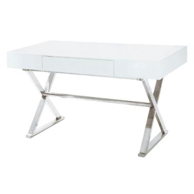 AS-卡洛兒白色書桌-130x70x75cm
