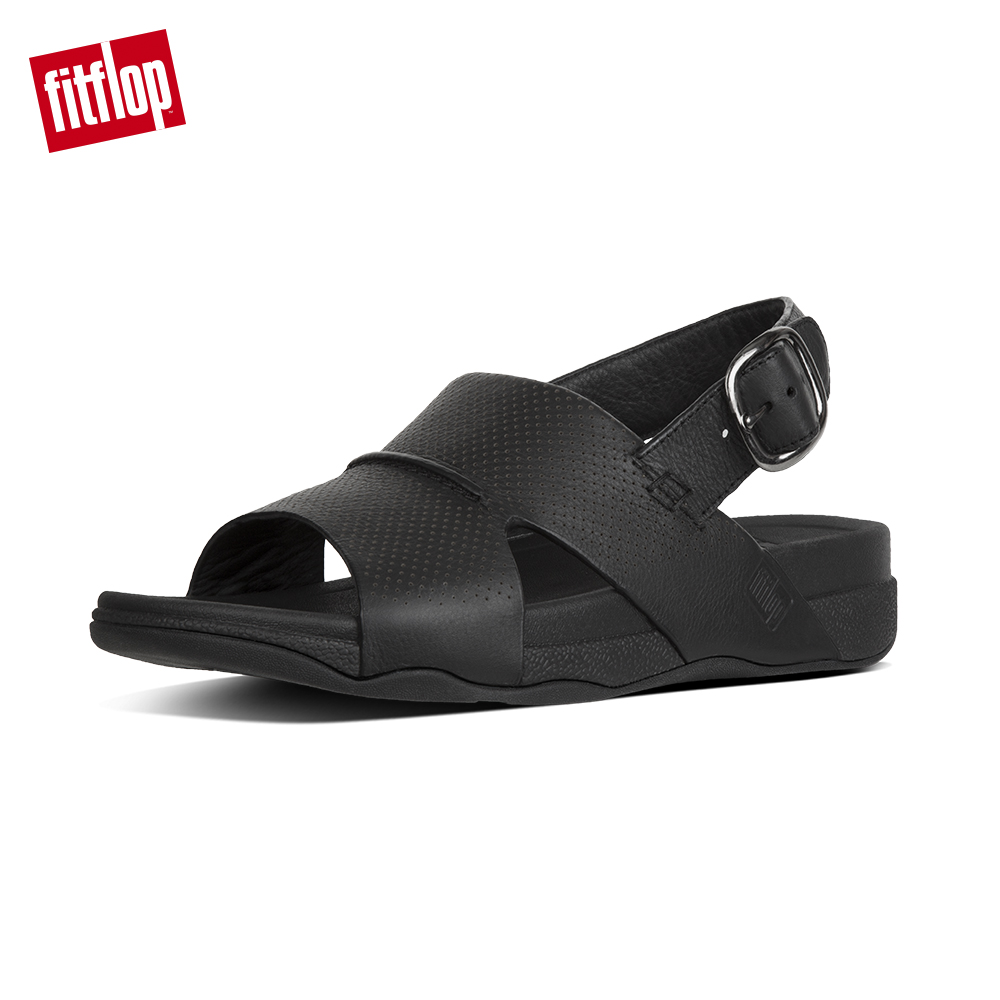 FitFlop BANDO TM BACK-STRAP SANDALS 黑