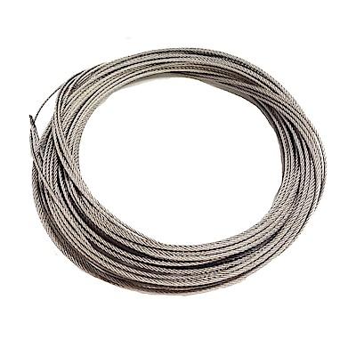 CZ002 不鏽綱綱絲晒衣繩S304單桿式/雙桿式通用 8米/雙條包裝