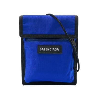Balenciaga Explorer Pouch尼龍斜背包(532298-寶藍)