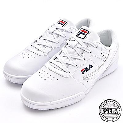 FILA 情侶款 復刻經典網球鞋 4 J327T 100