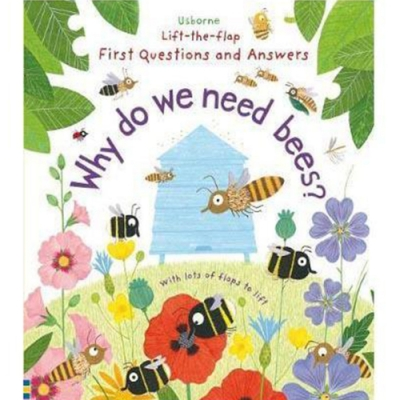 Why Do We Need Bees? 為什麼需要蜜蜂呢?精裝硬頁翻翻操作書