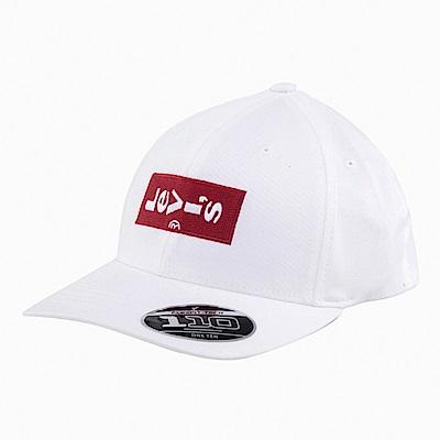 Levis 男女同款 可調式棒球帽 Lazy Tab Logo