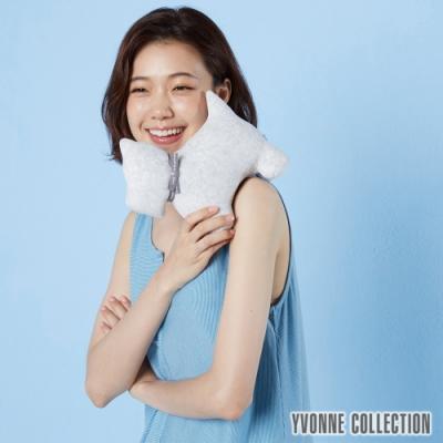 Yvonne Collection 梗犬造型玩偶-淺灰白