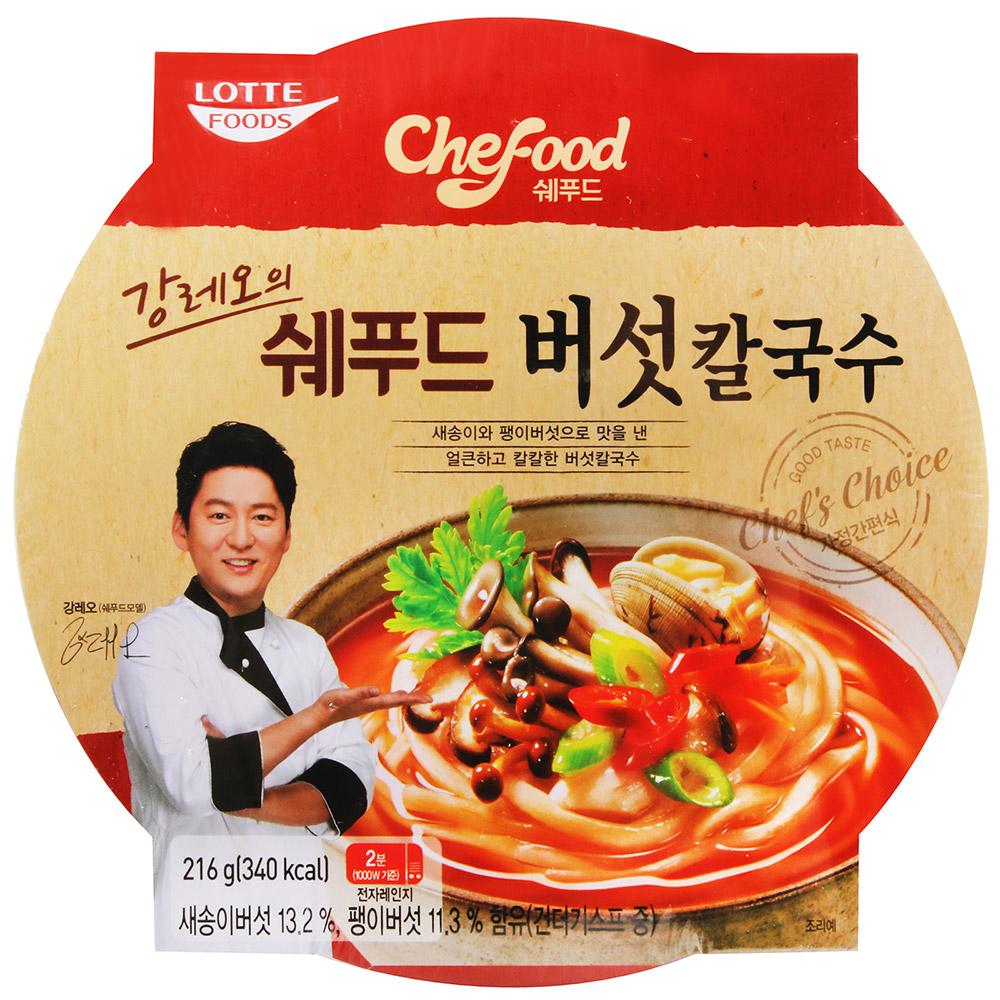 Lotte Food 名廚菇菇刀削麵(216g)